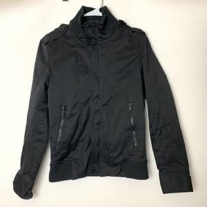 Zara Man Basic Black Jacket Size Small
